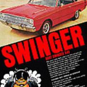 1969 Dodge Dart Swinger 340 Art Print