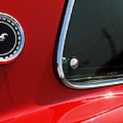 1969 Ford Mustang Mach 1 Art Print