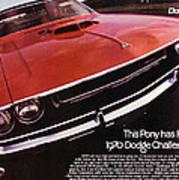 1970 Dodge Challenger R/t  Art Print