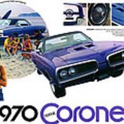 1970 Dodge Coronet Super Bee Art Print