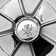 1971 Iso Fidia Wheel Emblem Art Print