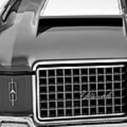 1972 Oldsmobile Grille Art Print