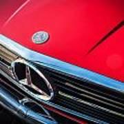 1984 Mercedes 500 Sl Convertible Art Print