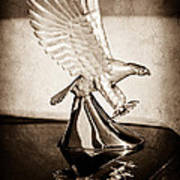 1986 Zimmer Golden Spirit Hood Ornament Art Print