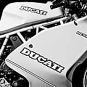 1993 Ducati 900 Superlight Motorcycle Art Print