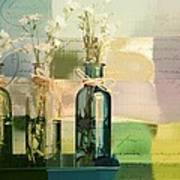 1-2-3 Bottles - J091112137 Art Print