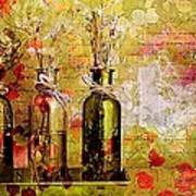 1-2-3 Bottles - S12a203 Art Print