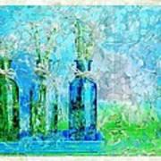 1-2-3 Bottles - S13ast Art Print