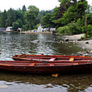 2 Little Boats Art Print