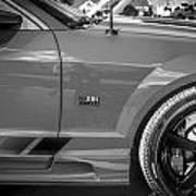 2006 Ford Saleen Mustang Bw Art Print