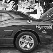 2010 Plymouth Superbird Bw  Art Print