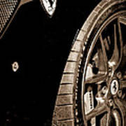 2011 Ferrari 599 Gto Emblem - Wheel Art Print