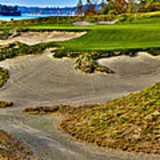 #3 At Chambers Bay Golf Course - Location Of The 2015 U.s. Open Championship Art Print by David Patterson