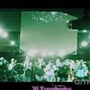 36 Trombones Art Print