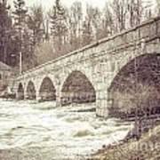 5 Span Bridge Art Print