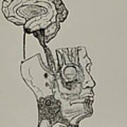 A Bright Idea Art Print by Nickolas Kossup