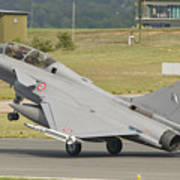 A French Air Force Rafale Jet Art Print
