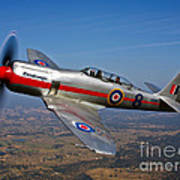 A Hawker Sea Fury T.mk.20 Dreadnought Art Print