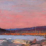 A Northern Lake Art Print