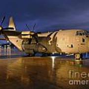 A Royal Air Force C130j Hercules  Art Print