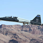 A U.s. Air Force T-38c Taking Art Print