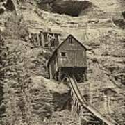 Abandoned Mine Art Print