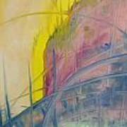 Abstracat Exhibit Art Print