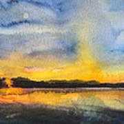 Abstract Landscape 8 Art Print