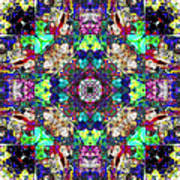 Abstract Symmetry Of Colors Art Print