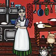 Abuelita Or Grandma Art Print