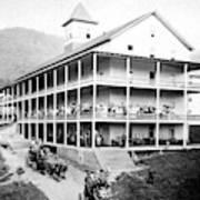 Adirondack Hotel, 1889 Art Print