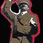 Adolf Hitler Saluting 2 Circa 1933 Art Print