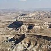 1-aerial Photography Of The Negev  Art Print