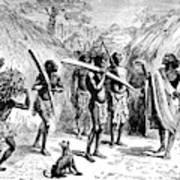 Africa Ivory Trade Art Print
