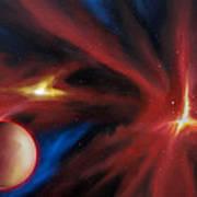 Agamnenon Nebula Art Print