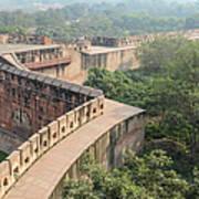 Agra Fort Tourist Destination In India Art Print