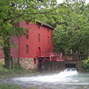 Alley Springs Mill  Art Print