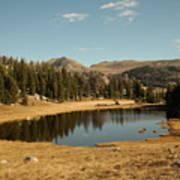 Alpine Lake Art Print
