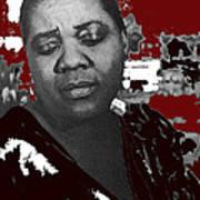 American Blues Singer Bessie Smith Unknown Date-2013 Art Print