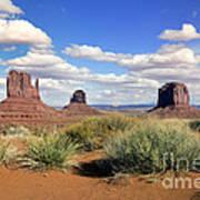American Landscape - Monument Valley Art Print