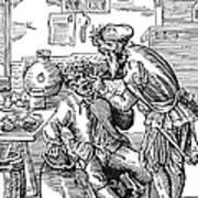 Amman: Dentist, 1568 Art Print