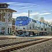 Amtrak 112 Art Print