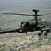 An Apache Ah64d Helicopter Art Print