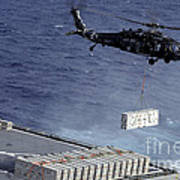An Mh-60s Sea Hawk Helicopter Picks Art Print