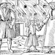 Anabaptist Family Art Print