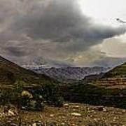 Andean Hills Art Print by Tyler Lucas