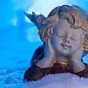 Angel In Snow  Art Print