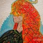 Angelica Gabriella Art Print by Jackie Bodnar