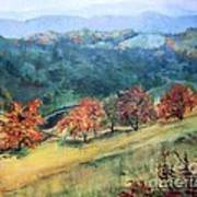 Appalachian Autumn Art Print