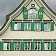 Appenzell Switzerland's Famous Windows Art Print